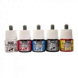 Encre aquarellable Colorex - Set 45ml x5