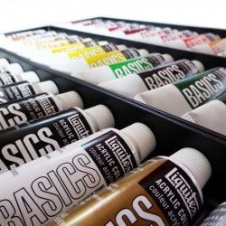 Acrylique Liquitex Basics - Set 36 x 22ml