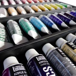 Acrylique Liquitex Basics - Set 48 x 22ml