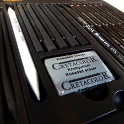Coffret graphite Cretacolor - black box