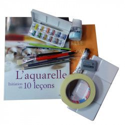 Atelier-box Initiation à l'Aquarelle en 10 leçons