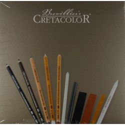 Coffret graphite Cretacolor - passion box