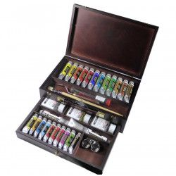 Coffret huile Rembrandt Master Gold Edition 24 tubes