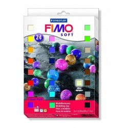 Coffret 24 1/2 pains - Fimo
