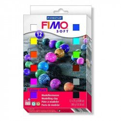 Coffret 12 1/2 pains Soft - Fimo