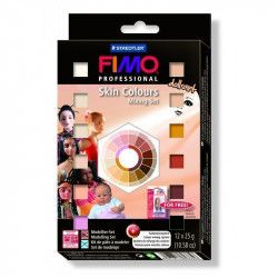 Set 12 pains Fimo Professional Doll Art - Staedtler