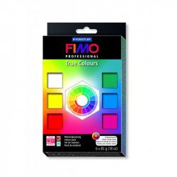 Coffret Fimo Professional 6 pains 85gr - Staedtler