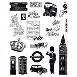 Tampons crystal - londres - 14x18cm - toga