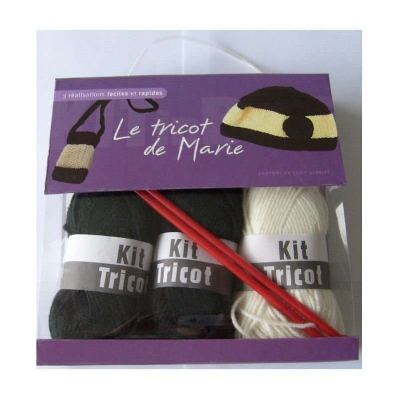 Kit in bag le tricot de marie