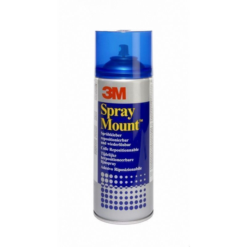 Colle repositionnable Spray Mount 400ml - 3M