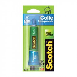 Colle transparente en tube 3025D - Scotch®