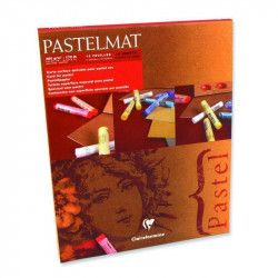 Bloc Pastelmat n° 1-12 feuilles 360g - Clairefontaine