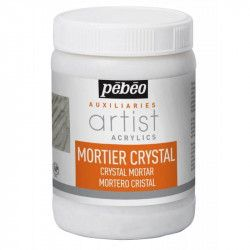 Mortier crystal acrylique - Pébéo