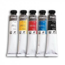 Pack 5 couleurs primaires 60 ml - Dalbe