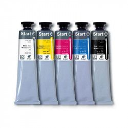 Pack 5 couleurs primaires 200ml - Dalbe