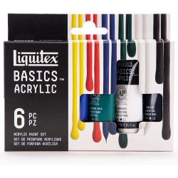 Acrylique Liquitex Basics - Set 6 x 22ml
