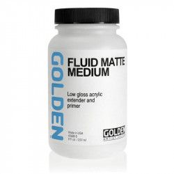 Médium fluide mat 237 ml - Golden