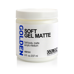 Gel mat Golden - 237ml