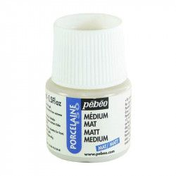 Medium mat Porcelaine 150 45ml