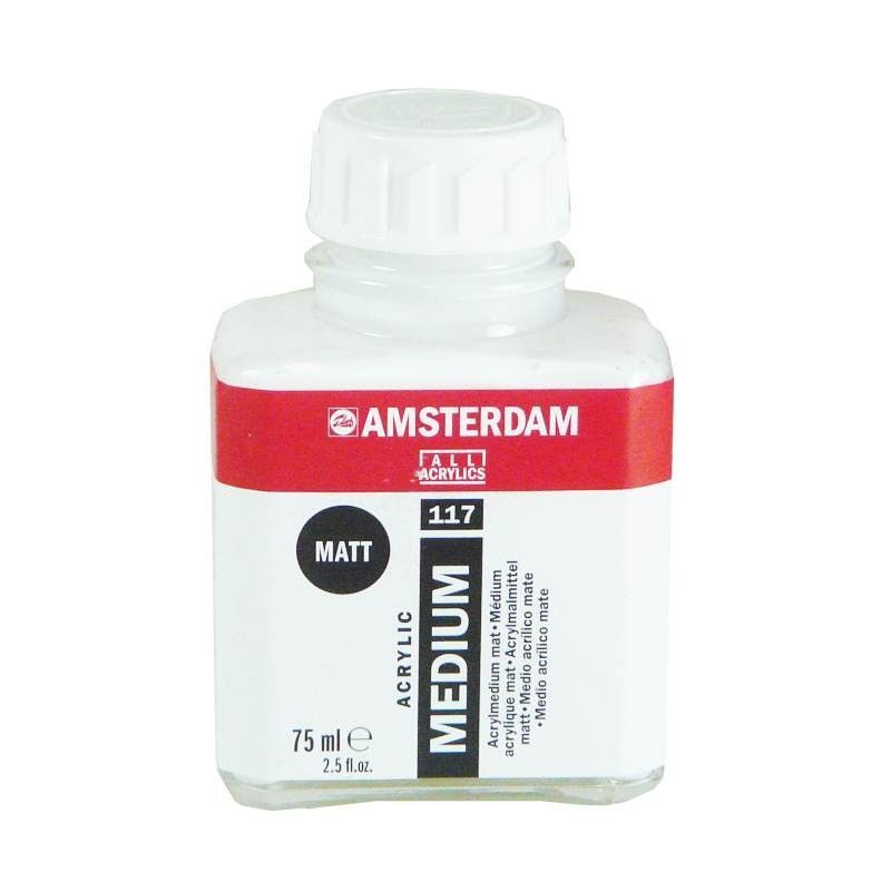 Médium Amsterdam acrylique mat 75ml