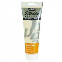 Gel de texture sable studio acrylique 250ml - Pébéo