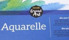 Bloc grand Art Aquarelle Dalbe